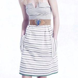 "Anthropologie ""Maeve"" Changing Stripes Dress"